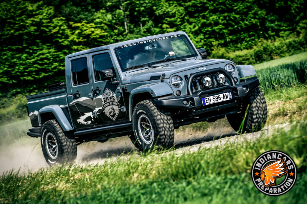 Jeep Wrangler Pick up Indiancars