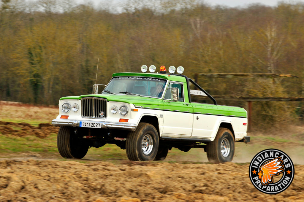 Jeep Pick up indiancars J10 V8