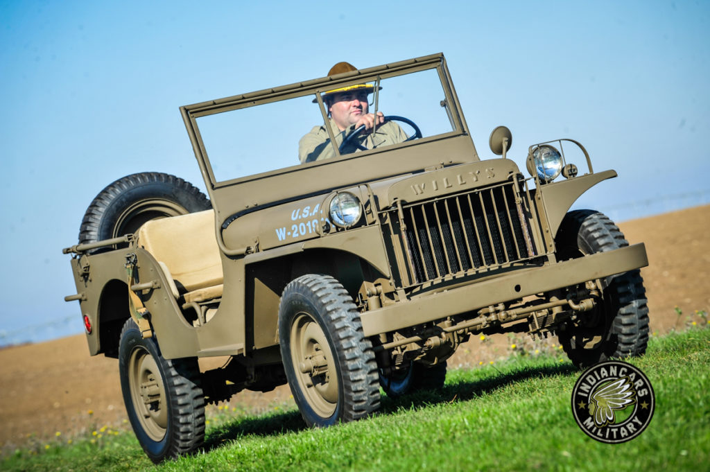 JEEP Willys MA 1941 restauration Indiancars