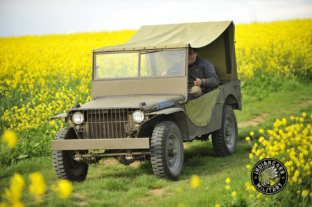 Jeep FORD GP WW2 restauration