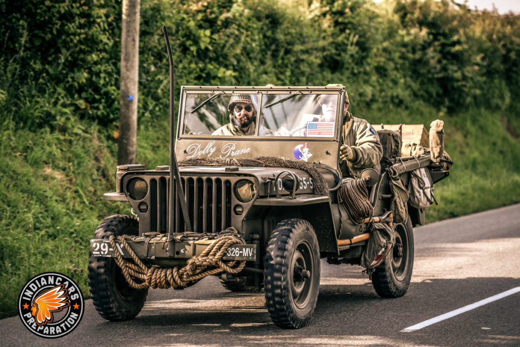 Jeep WW2 restauration indiancars