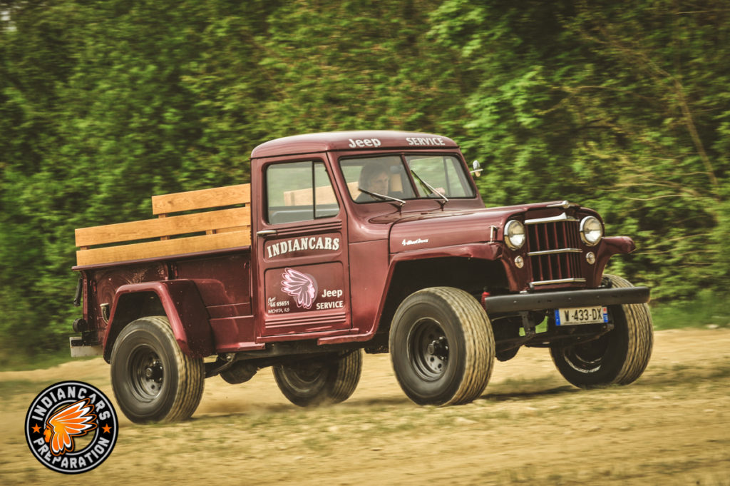 Jeep willys one ton truck Overland