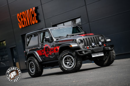 Jeep Wrangler JL 2,0L turbo by Indiancars