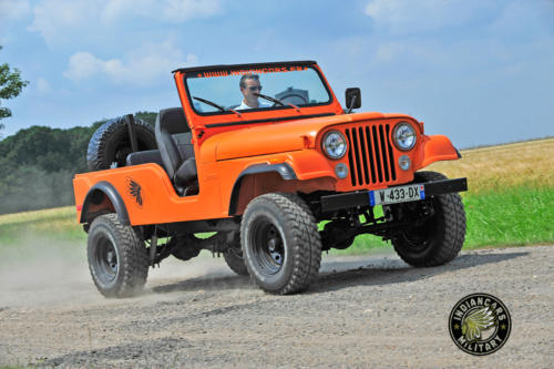 Jeep CJ6 indiancars000