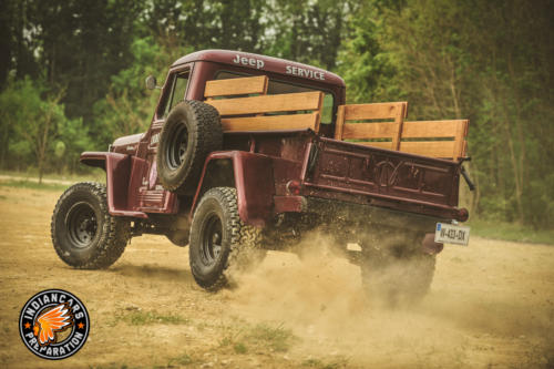 Jeep willys one ton truck 027