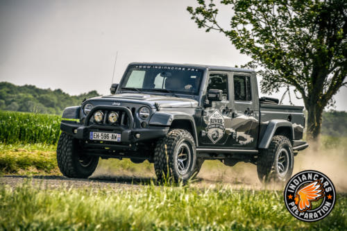 Jeep Wrangler Pick up Indiancars001